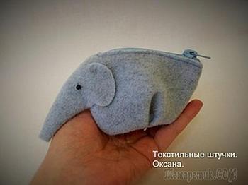 Оригинальный кошелёк «Слон»