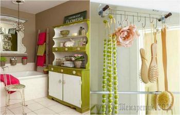 Потрясающие идеи организации пространства в ванной комнате