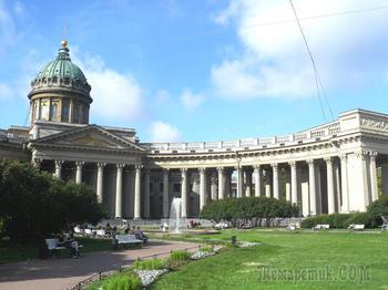 Монастыри и храмы. Храмы Петербурга... Казанский