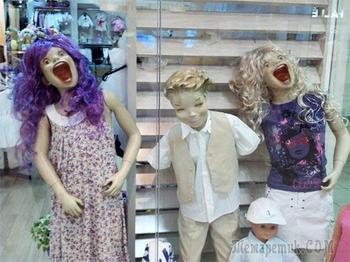 25 смешных и необычных манекенов, которые не могут не веселить