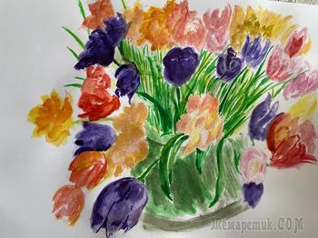 Мои рисунки исповедь опытного пенсионера за весну 2021 года