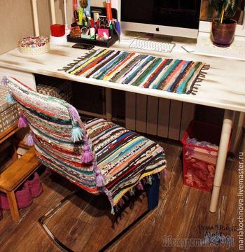 Идея создания оригинального бюджетного чехла для стула