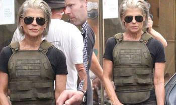 Сара Коннор вернулась: 61-летняя Линда Хэмилтон снова готова убивать киборгов на съемках нового «Терминатора»