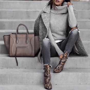 Модный серый: с чем сочетать и как носить