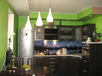Кухня, совмещенная с залом и прихожей