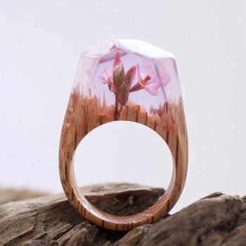 Таинственные миры внутри деревянных колец