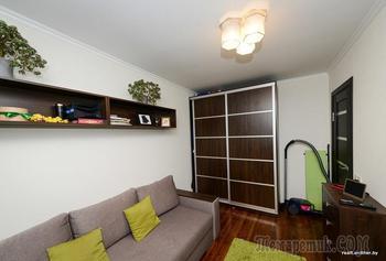 «Мебель срисовали с IKEA». Посмотрите, как семья преобразила квартиру площадью всего 21 «квадрат»