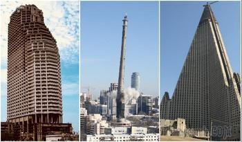 8 заброшенных башен и небоскребов, которые стали мечтой экстремалов, а не гордостью создателей