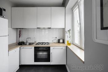 Дизайн маленькой кухни в хрущевке. Москва