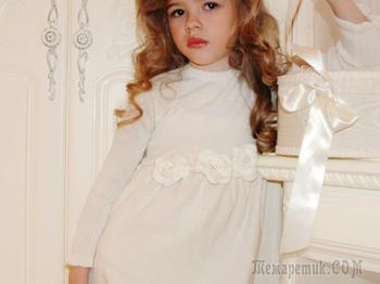 Как связать красивое детское платье? Схемы вязаного платья спицами и крючком