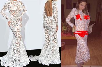14 смешных доказательств того, почему никогда не стоит заказывать платье для выпускного вечера в интернете