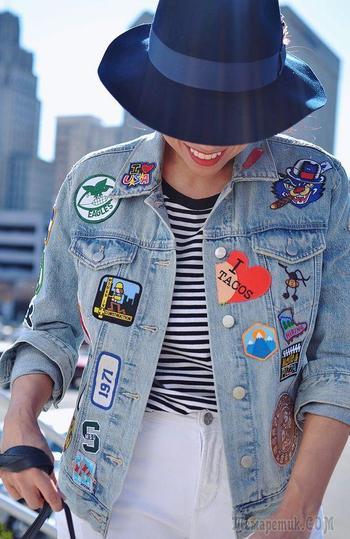 Как преобразить джинсовую куртку: 20 ультрамодных идей