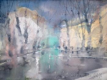 Дождливый роман (Стих)