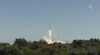 SpaceX успешно отправляет груз к МКС, но посадка ракеты оказывается неудачной