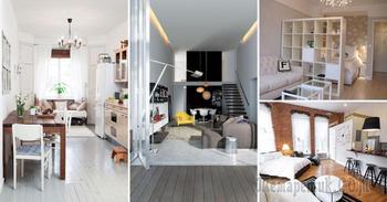 Восхитительные идеи, которые позволят увеличить пространство в малогабаритной квартире