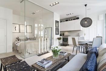 Уют маленькой квартиры: 30 идей дизайна для малогабариток