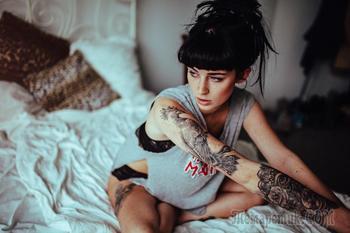 Портреты людей с татуировками, которые выглядят круто
