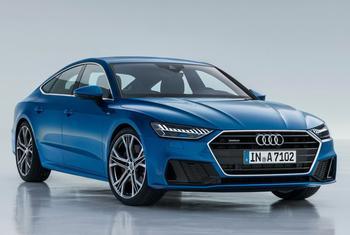 Audi A7 2021: престижный фастбэк с нотками практичности