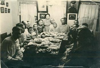 Советские застолья