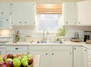 Деревянная плитка на кухню из бросового материала