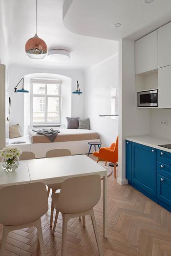 Очень маленькая, но очаровательная квартира в самом сердце Львова (27 кв. м)