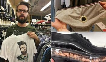 Забавные вещички, которые были случайно обнаружены в секонд-хенде