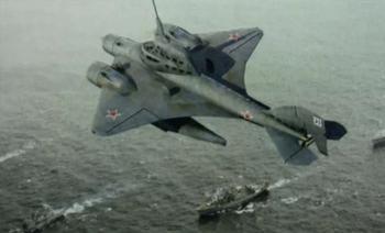 Летающая субмарина: секретный проект СССР