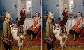 Интернет-пользователи сделали картины классиков русской живописи более позитивными с помощью FaceApp и улыбок