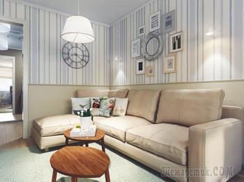 Уютная трехкомнатная квартира в Минске