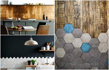 18 изумительных идей использования керамической плитки