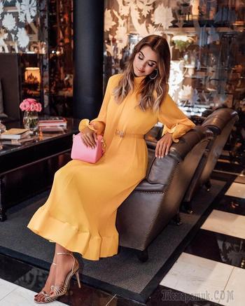 Летнее платье в пол – новинки 2018 года: 30 стильных вариантов