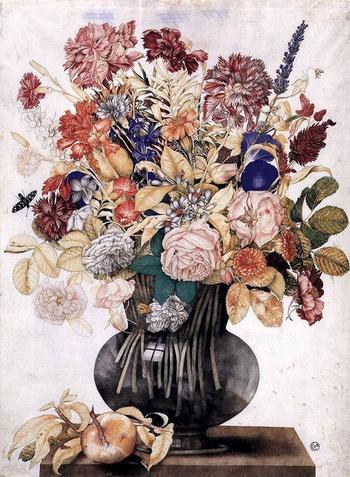 Джованна Гарцони – художница эпохи барокко и её великолепные букеты и натюрморты