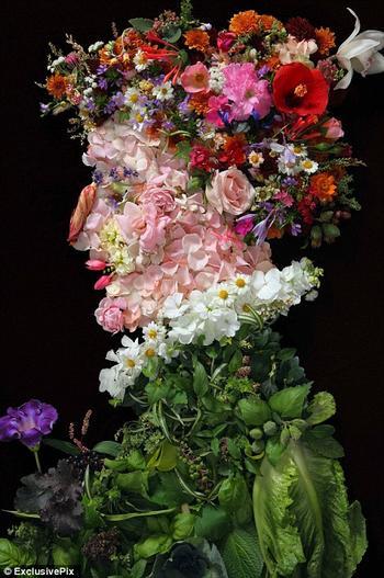 """Портреты, созданные Клаусом Энрике с помощью необычных """"красок"""""""