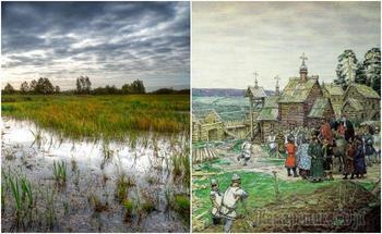 Какие современные мегаполисы появились на месте болот