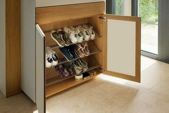 Полка для хранения обуви своими руками