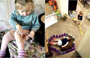 Детки и бедки: 17 уморительных снимков о проделках маленьких проказников