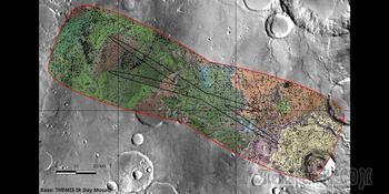 Оксийская равнина станет местом посадки аппарата ExoMars на поверхность Марса?