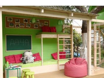 Идеи детского уголка на даче