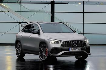 Быстрейший Mercedes-Benz GLA наконец-то увидел свет!