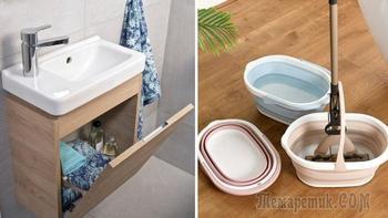 5 идей хранения в ванных комнатах, где и повернуться-то получается с трудом