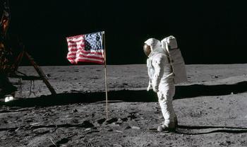 50 лет высадке на Луну в фотографиях