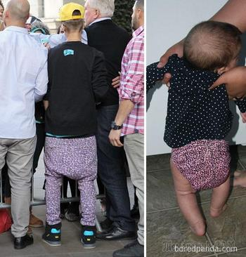 """""""Кто носит это лучше?"""" Сравнительные фотографии, которые заставят вас смеяться до слёз"""