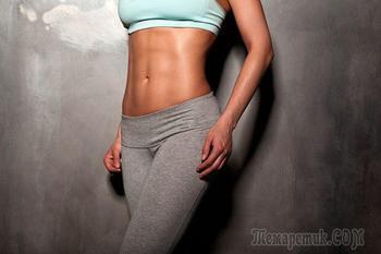 Домашние упражнения для похудения живота и боков — Где будем делать талию?