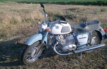 Лучший советский мотоцикл ИЖ Планета-3