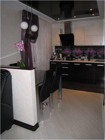 Кухня-студия: cовременная, функциональная и уютная