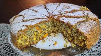 Пирог постный без яиц, масла сливочного и молока