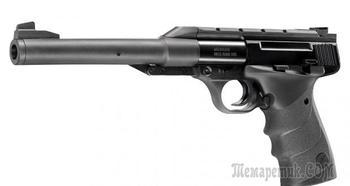 Пневматический пистолет Umarex Browning Buck Mark URX — тихий ПП браунинг