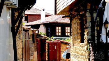 Болгарское побережье Черного моря 41. Старый город Несебр
