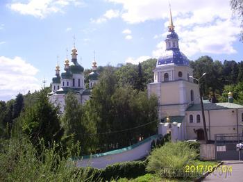 Киевские монастыри. Часть 3. Выдубицкий Свято-Михайловский монастырь