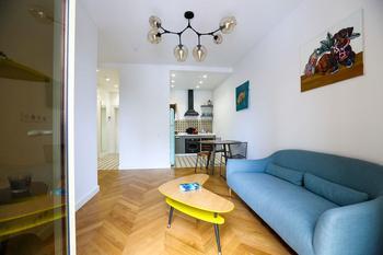 Небольшая квартира, где есть все необходимое